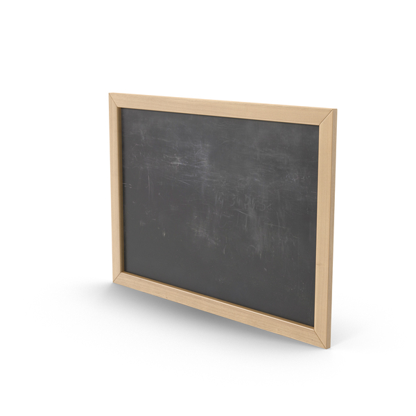 Black Chalkboard Object