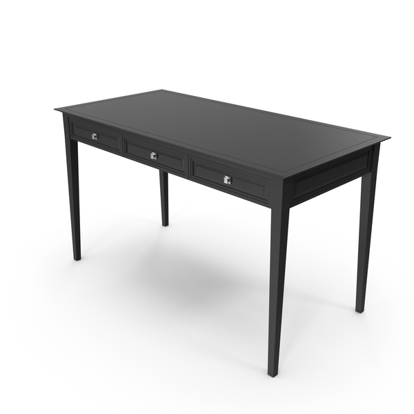 Black Console Table PNG & PSD Images