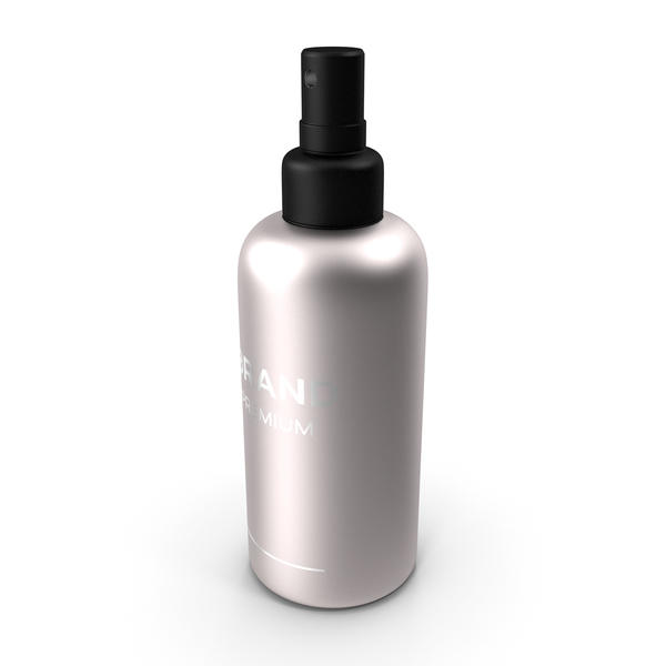 Black Cosmetic Spray Bottle PNG & PSD Images