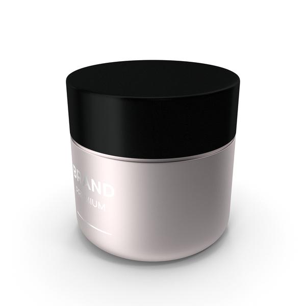 Lotion: Black Cream Jar PNG & PSD Images