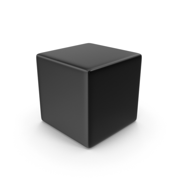 Black Cube PNG & PSD Images