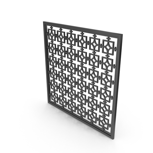 Black Decor Panel PNG & PSD Images