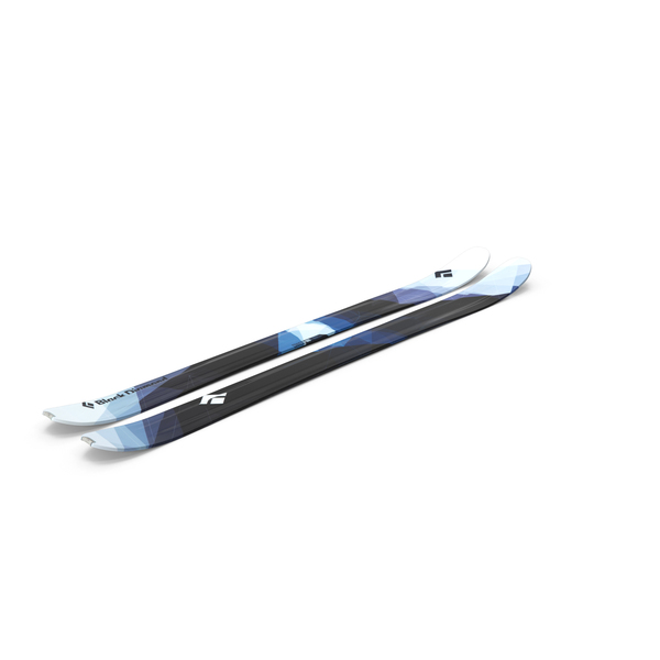 Black Diamond Convert Skis PNG & PSD Images
