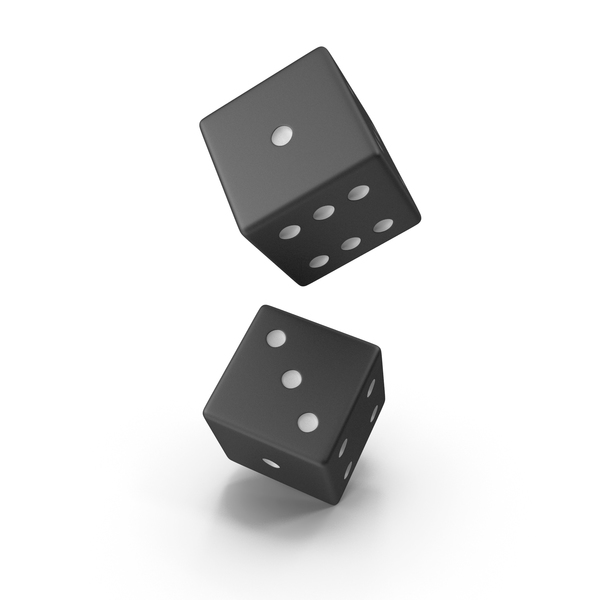Black Dice PNG & PSD Images