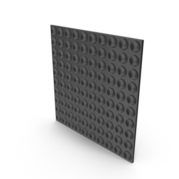 Black Dimple Panel Wall PNG & PSD Images