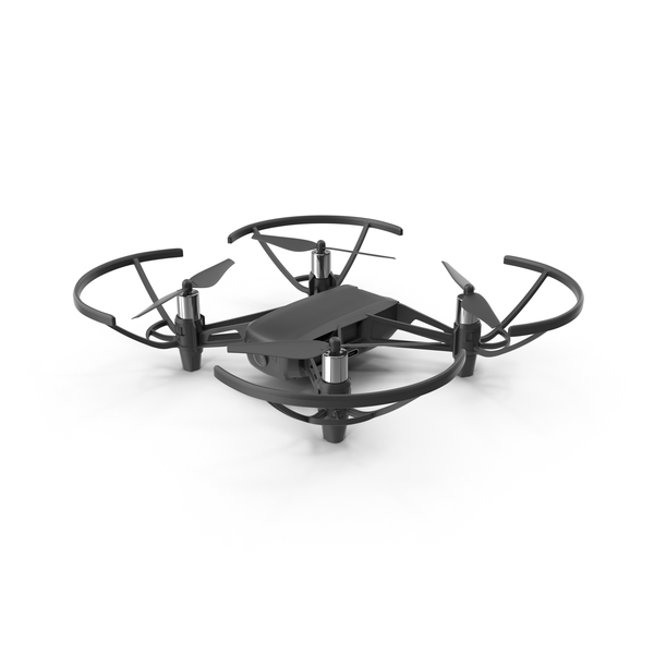 Black DJI Tello Drone PNG & PSD Images
