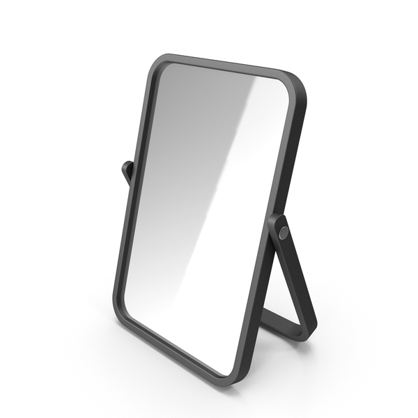 Black Double Sided Makeup Mirror PNG & PSD Images