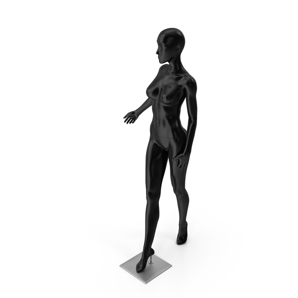 Black Female Dummy PNG & PSD Images