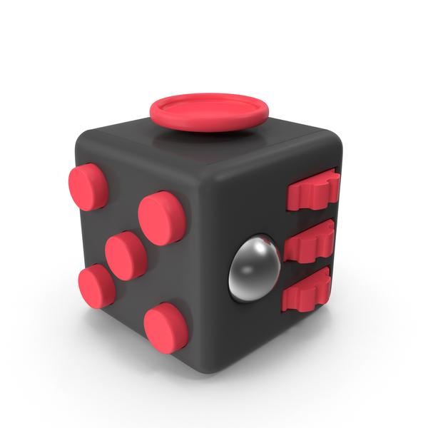 Black Fidget Cube PNG & PSD Images