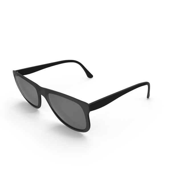 Black Framed Sunglasses PNG & PSD Images