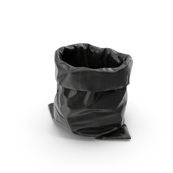 Black Garbage Bag PNG & PSD Images