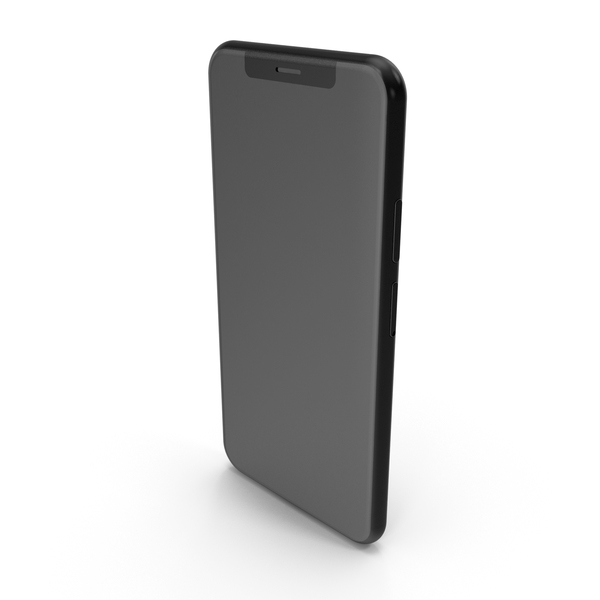 Black Generic Smartphone PNG & PSD Images