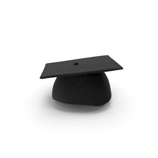 Black Graduation Cap PNG & PSD Images