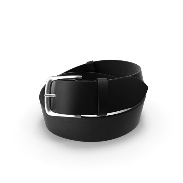 Black Leather Belt PNG & PSD Images