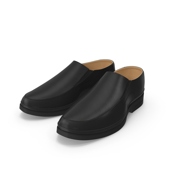 Black Leather Shoes PNG & PSD Images