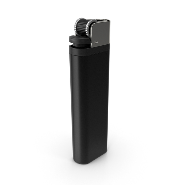 Disposable: Black Lighter PNG & PSD Images