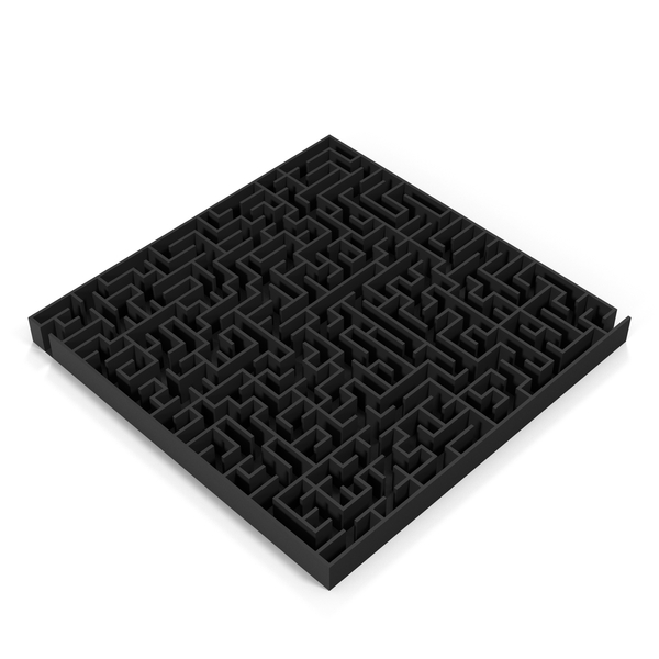 Black Maze PNG & PSD Images