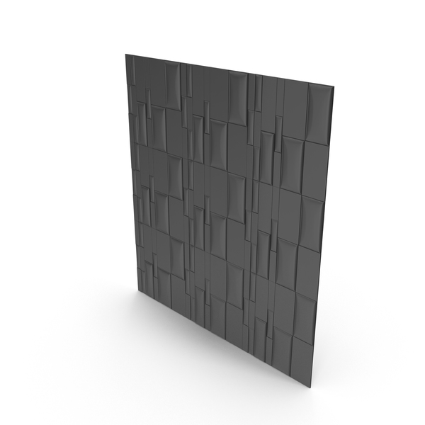 Black Panel Wall PNG & PSD Images
