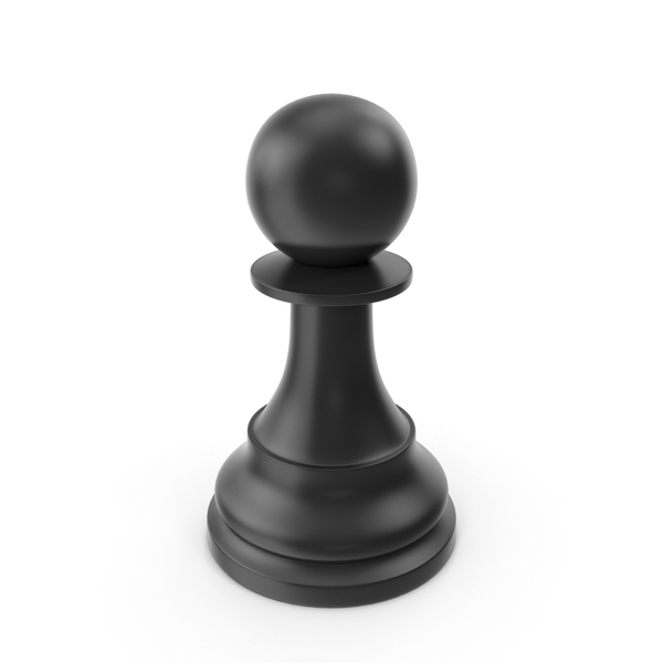 Black Pawn Object