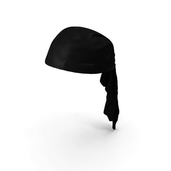 Black Pirate Scarf PNG & PSD Images