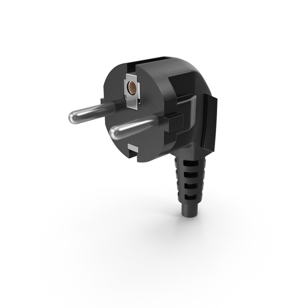 Power Cord: Black Plug PNG & PSD Images