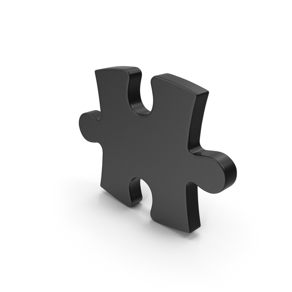 Jigsaw: Black Puzzle PNG & PSD Images