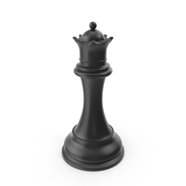 Chessmen: Black Queen PNG & PSD Images