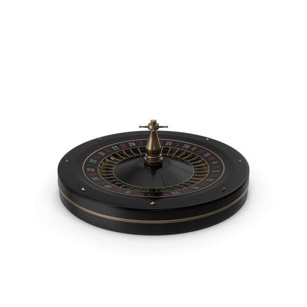Black Roulette Wheel PNG & PSD Images