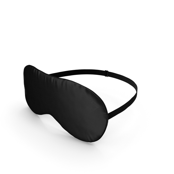 Black Sleeping Mask PNG & PSD Images