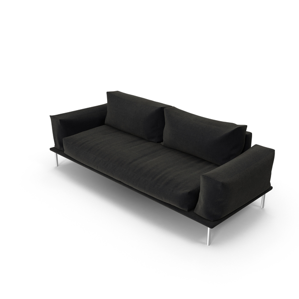 Black Sofa Object