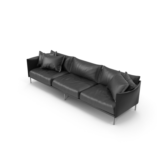 Black Sofa PNG & PSD Images