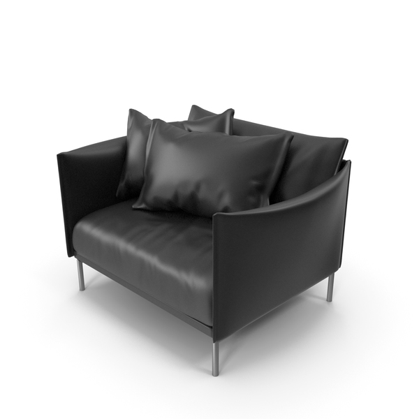 Black Sofa PNG & PSD Images