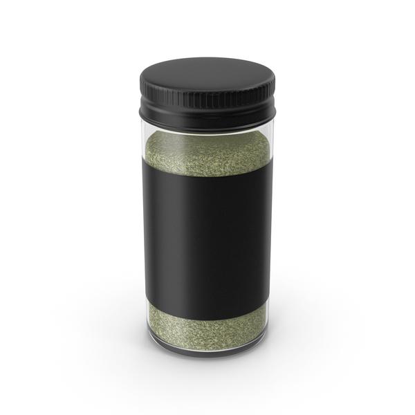 Black Spice Jar PNG & PSD Images