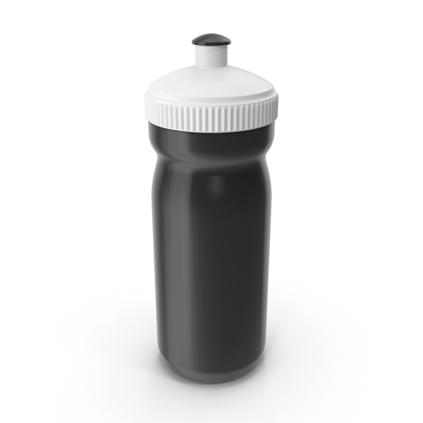 Black Sport Bottle PNG & PSD Images