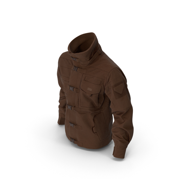 Black SWAT Jacket Brown PNG & PSD Images