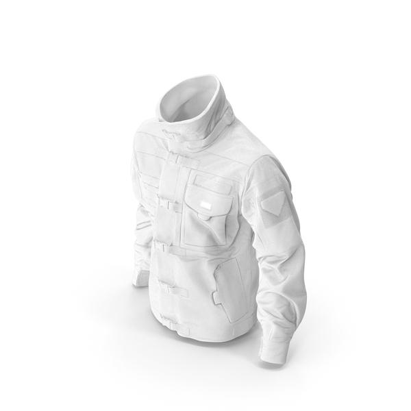 Black SWAT Jacket White PNG & PSD Images