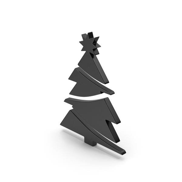 Black Symbol Christmas Tree PNG & PSD Images