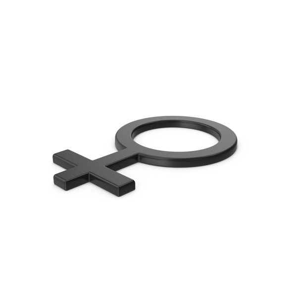 Black Symbol Female PNG & PSD Images