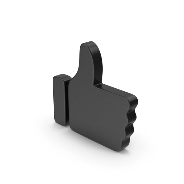 Computer Icon: Black Symbol Like PNG & PSD Images