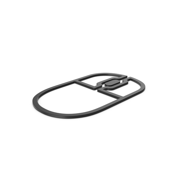 Logo: Black Symbol Mouse PNG & PSD Images