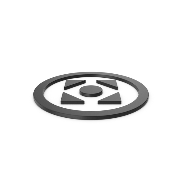 Directional Arrow: Black Symbol Move Button PNG & PSD Images