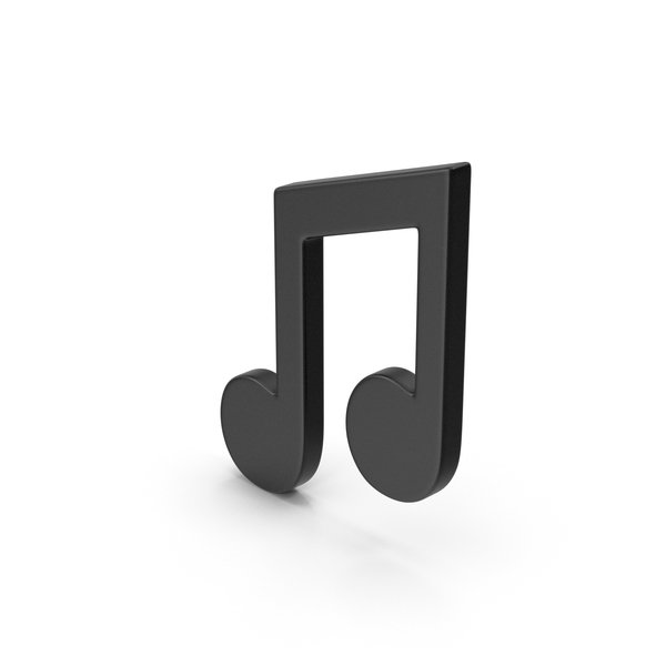 Black  Symbol Music Note PNG & PSD Images