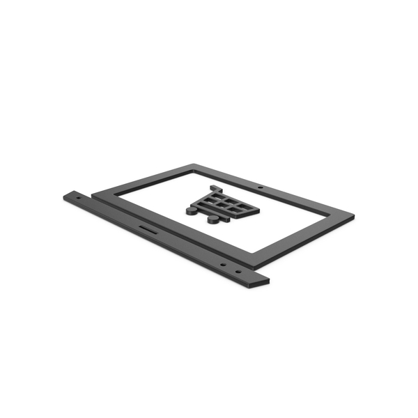 Cart: Black Symbol Online Shopping PNG & PSD Images