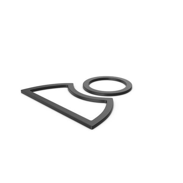Logo: Black Symbol People PNG & PSD Images