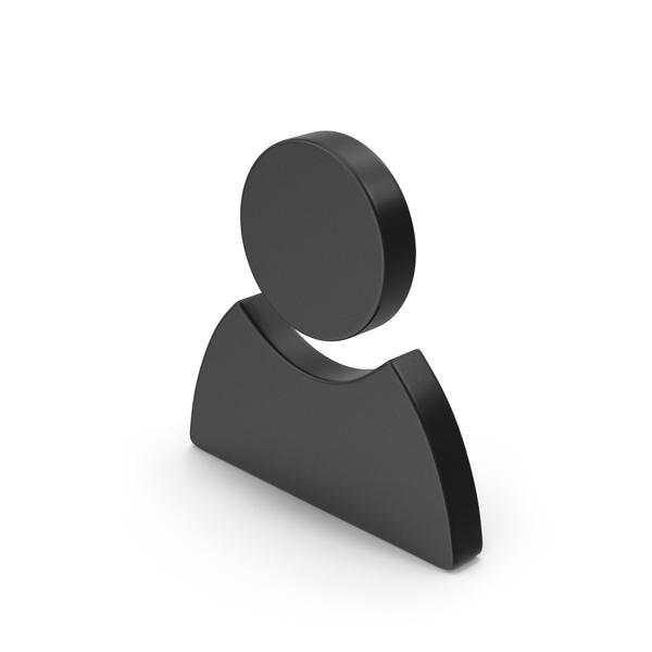 Head: Black Symbol People/Name PNG & PSD Images