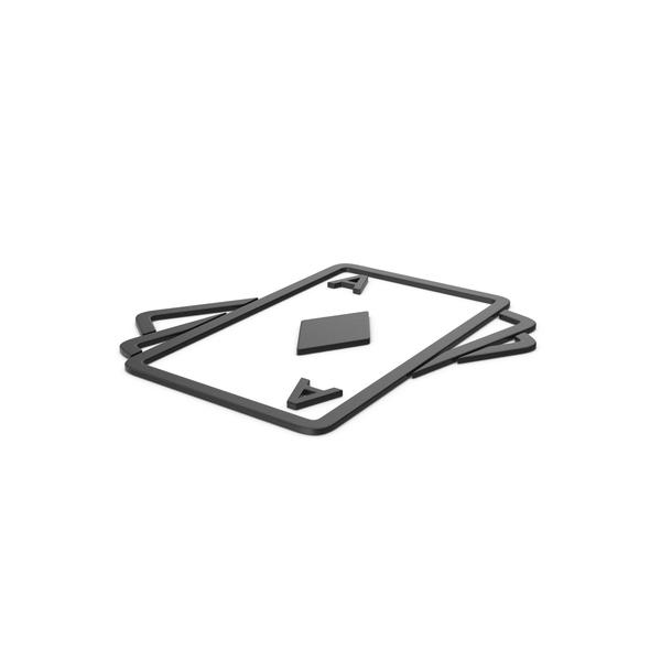 Symbols: Black Symbol Playing Cards PNG & PSD Images