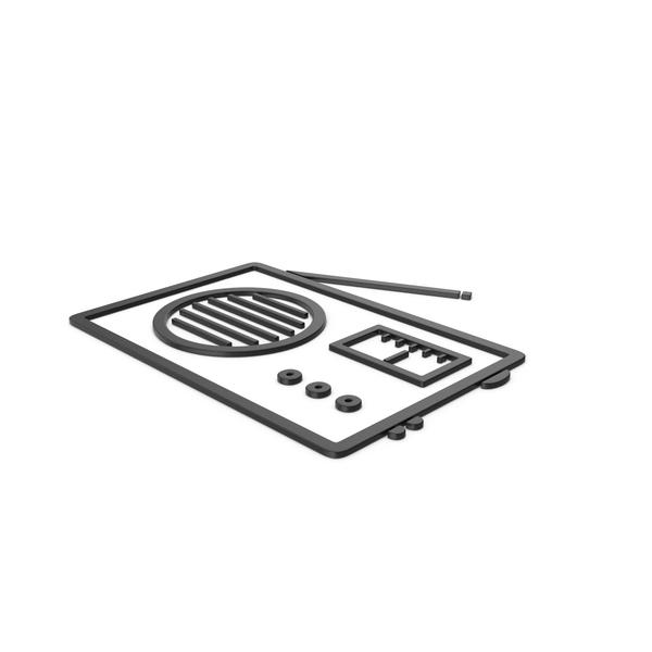 Logo: Black Symbol Radio PNG & PSD Images