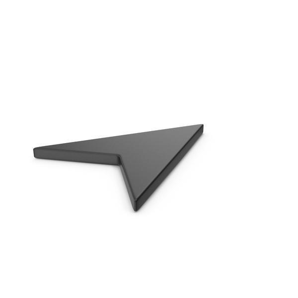 Logo: Black Symbol Send Button / Arrow PNG & PSD Images