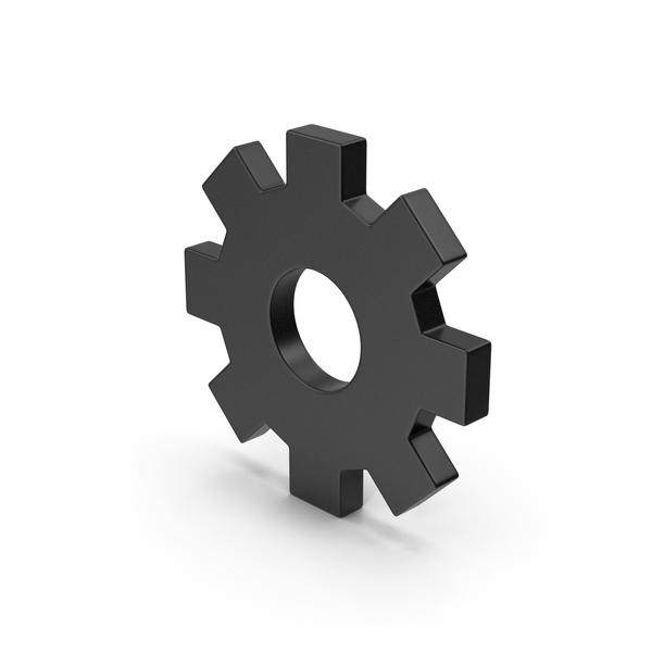 Black Symbol Settings PNG & PSD Images