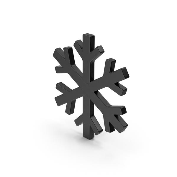 Black Symbol Snowflake PNG & PSD Images